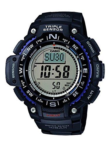Casio Herren Uhr Digital mit Resinarmband SGW-1000-1AER