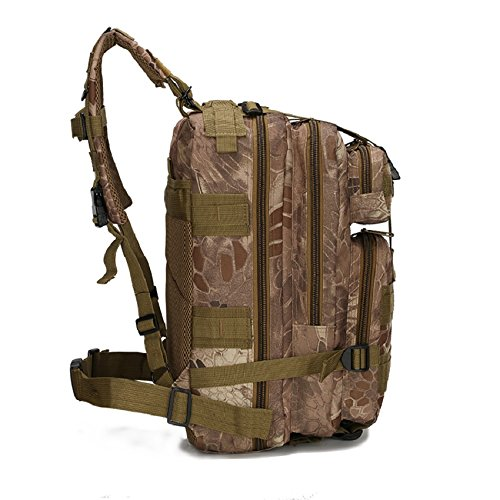 Z&N Backpack Militär Ausrüstung Tarnung Angriff Pack taktischen Kampf Rucksack Taschen Camping Rucksack Outdoor-Sport 3P Rucksack. Schultern Tasche Bergsteigen Tasche A