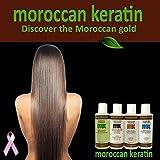 Moroccan Keratin Most Effective Brazilian Keratin Hair Treatment SET 120ML x4 Professional Salon