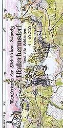 Hinterhermsdorf und die Schleusen 1:10000: Wanderkarte der Sächsischen Schweiz. Obere und Niedere Schleuse - Wachberg - Weifberg
