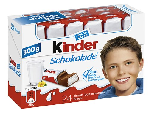Kinder Schokolade, 8er Pack (8x 300 g)