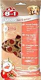 8in1 Minis Mega-Selection Hundesnacks (fettarm, glutenfrei, zuckerfrei, zehn verschiedene Sorten, Huhn Rind Lamm Kaninchen Pute Ente Hirsch Fisch), 1 kg Beutel (10 x 100g) - 10