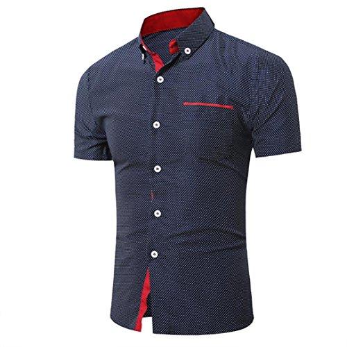 Kanpola Herren Poloshirt Einfarbig Shirt Sweatshirt Unterhemden Muskelshirt Tee Top Blouse -