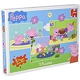 Jumbo - 617388 - Peppa Trio Puzzle - 12 Pièces