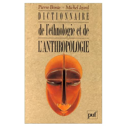 Dictionnaire d'ethnologie et anthropologie