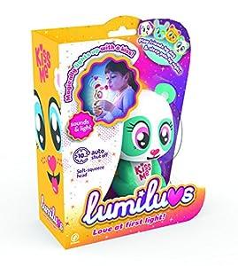 LUMILUVS TIgerHead Toys, Ltd. - Oso Mascotas Electrónicas con Luz y Sonidos. , Color Verde (59352)
