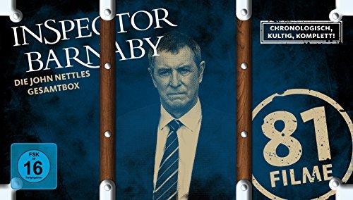 Inspector Barnaby - Die John Nettles Gesamtbox [47 DVDs + 1 CD]