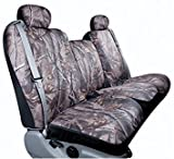 Automotive Innovations Saddleman Custom Made Front Bench / Backrest Seat Cover - Polyester Fabric (Camouflage)