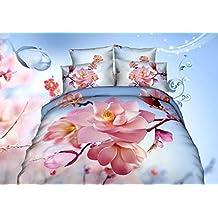 GY&H El nuevo hogar textiles pintura twill activa impresión nieve lobo algodón 3D ropa de cama cuatro conjuntos,E,200X230
