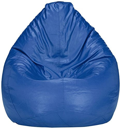 Solimo XXXL Bean Bag Cover Without Beans (Blue)