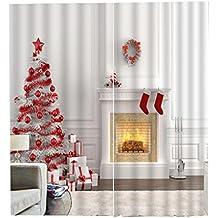 gardinen weihnachtsmotiv gardinen 2018. Black Bedroom Furniture Sets. Home Design Ideas