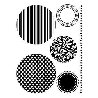 Artemio Mini Clear Stamps Circles