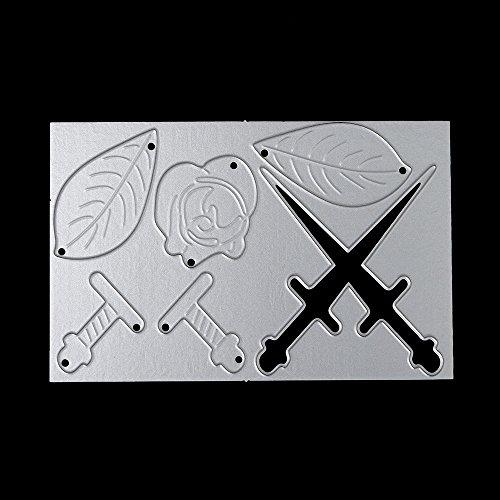 Stanzschablone, Fotopapier, Karten, Handwerk Prägen DIY Herstellung Geburtstag Geschenk, Scrapbooking Prägeschablonen Stanzformen Schablonen Für Scrapbooking 0625044 ()