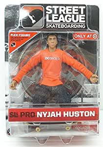 Street League Skateboarding Pro Nyjah Huston Flex Figure Series 1 Target Exclusive