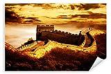 Postereck - Poster 0034 - Chinesische Mauer, Sepia China