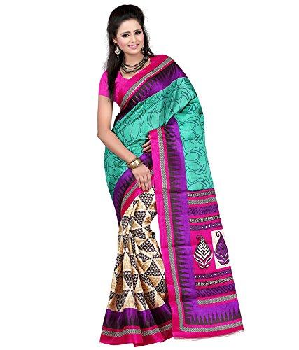 Vedant Poly Silk Saree (Vvas_Taylor_Multi-Coloured)