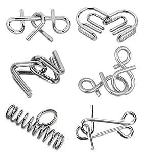 Funrally Metal Puzzle (6 Pieces)