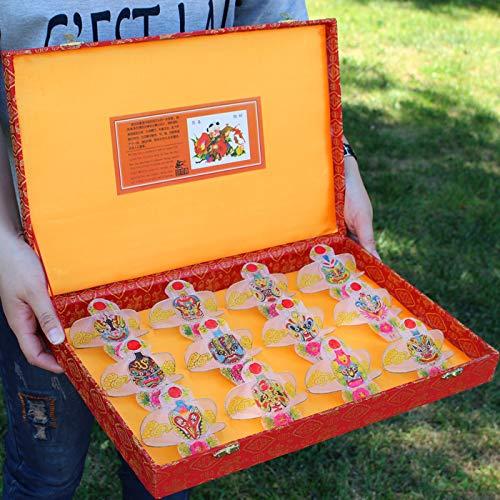 FEN Drachen Zodiac Geschenkbox Geschenkdrachen Mini Drachen, cartoonversion