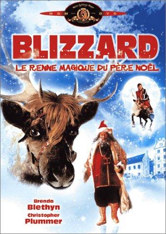 Blizzard, le renne magique du père Noël