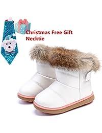 Botas Bebé Niña, Morbuy Botas de Nieve Zapatos Para Bebé Invierno e Mantente Caliente Casual Martin Botas Charming Botines Regalo de Navidad 1-5 Años de Edad