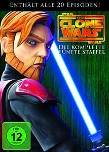 Star Wars: The Clone Wars - Die komplette fünfte Staffel [4 DVDs]