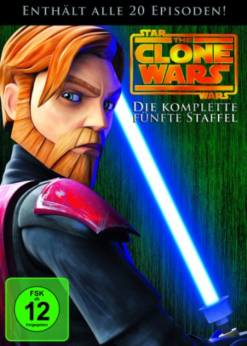 Star Wars: The Clone Wars - Die komplette fünfte Staffel [4 DVDs]