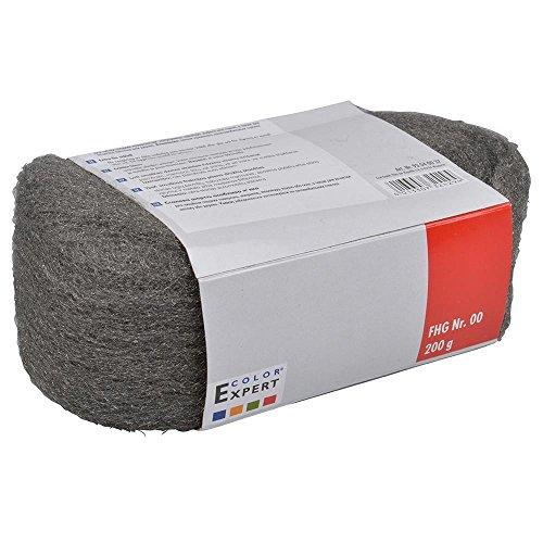 Stahlwolle 200g Grad 00 Schleifwolle Polierwolle Putzwolle Schleifen Polieren