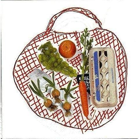 Signes Grimalt - Paquete 20 Servilletas Papel 33 cm Shopping Bag 34887SG