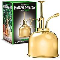 CKB LTD Mister - Botella de Agua para Interior (300 ml, Estilo Vintage, con pulverizador Decorativo, Bomba de Agua, Calabaza para Plantas de Aire, orquídeas y más)