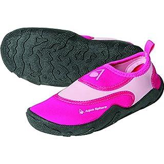 Aqua Sphere Girl Beachwalker Neoprene Water/Beach Shoe, Light Pink, Size 28/29