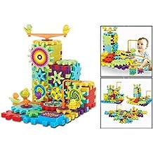 OFKPO Juego de construcción con 81 piezas - Gears Engranajes de alta Calidad para Niños y Niñas de 4 a 9 Años