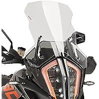 BJ Global Motorbike Windscreen Windshield Windscherm Wind Screen+Screws For Yamaha MT-07 2013-2017 FZ-07 2015-2017