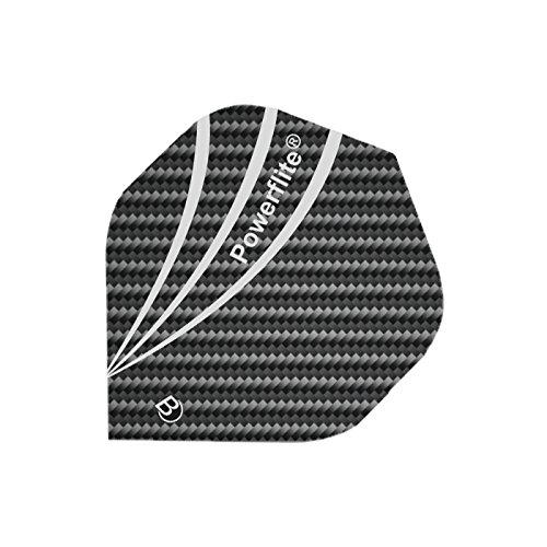 Bull's Powerflite A-Standard Dartpfeil-Flights, Grau, One Size (Pfeil Adidas)