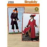 Simplicity BB L-XL Sewing Pattern 2333 Mens Costumes