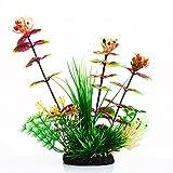 Gulin Aquarium Plastikpflanzen, Premium Qualität Emulational Unterwassergras Wasserpflanze Ornament, Startseite DIY Dekorationen