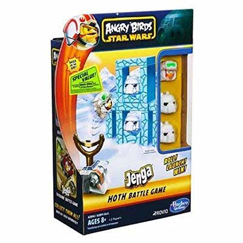 Star Wars - Angry Birds - Jenga Battle Game - Hoth [UK Edition]