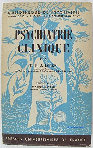 Psychiatrie Clinique