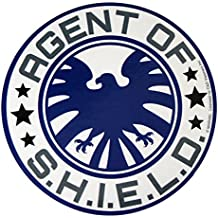 "AVENGERS Classic Agent Of S.H.I.E.L.D, Officially Licensed Marvel Comics, High Quality, 4"" - Sticker Aufkleber DECAL"
