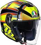 AGV casco da motociclista K 5Jet E2205Top, Sole Luna Giallo, Taglia ML