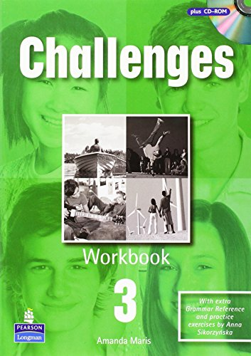Portada del libro Challenges Workbook 3 and CD-Rom Pack: Pack 3