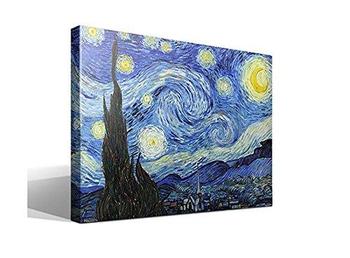 Cuadro Canvas La Noche Estrellada Vincent Willem Van
