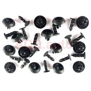 ACD. Clip 90467-0721130x Nylon Motor Cover Gitter Bumper Retainer Clip