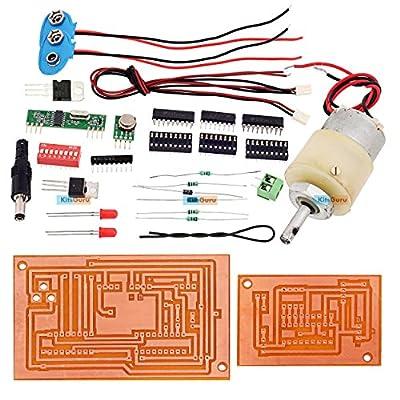 KitsGuru DIY Kit - Wireless Direction Control Of Dc Motor : LGKT018 Electronics Mini Projects