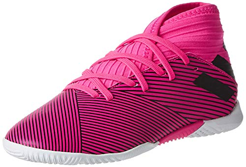 adidas Unisex-Kinder Nemeziz 19.3 In J Fußballschuhe, Mehrfarbig (Shock Pink/Core Black/Shock Pink 000), 35 EU