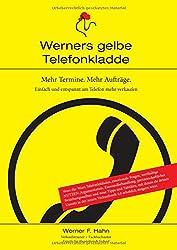 Mehr Termine. Mehr Aufträge.: Werners gelbe Telefonkladde
