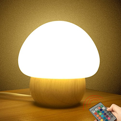 multicolor-led-night-light-sunnior-portable-silicone-cute-color-changing-mushroom-nursery-night-lamp