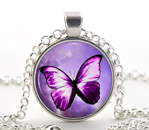 purple-butterfly-pendant-necklace-silver-jewellery-art-gift-for-women-and-girls