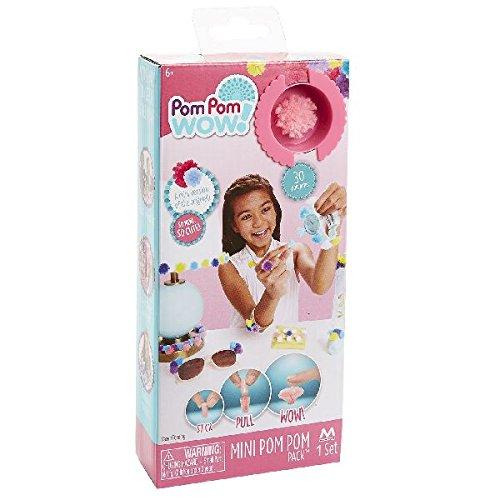 Pom Pom Wow 34330 - Mini Pom Set, Craft Kit, rosa Preisvergleich