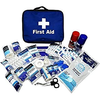 FA Football Touchline Physio Sports First Aid Kit Fully Kitted in Bag