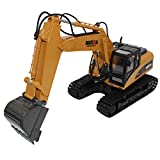 Per Camión Excavadora Teledirigido Juguete de Camión de Construcción Escala de 1:14 Control Remoto